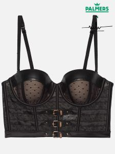 Leather & Spot - Balconnet Bügel BH