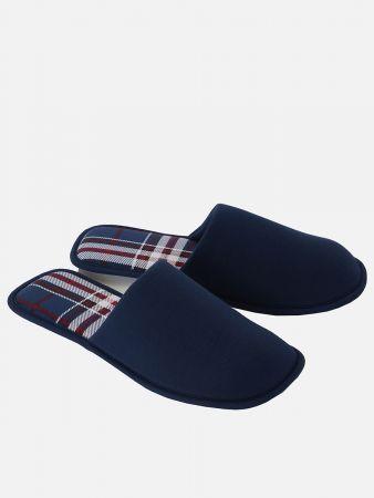 X-Mas Slipper Men - Schuhaccessoire - Blau-Bunt
