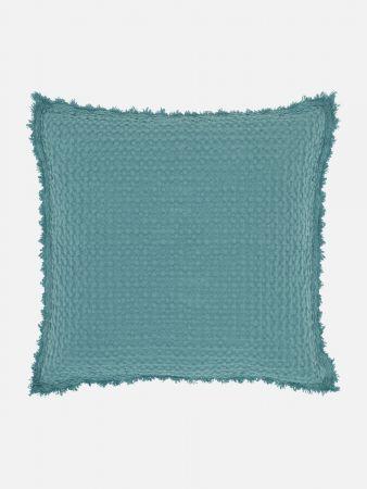 Marisa - Zierpolsterhülle - Türkis-Blau