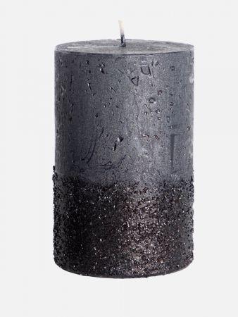 Chic Candle - Kerze duftneutral - Schwarz