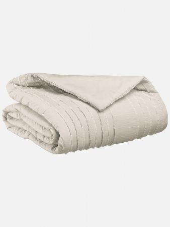 Quilted Cotton - Decke - Ecrue