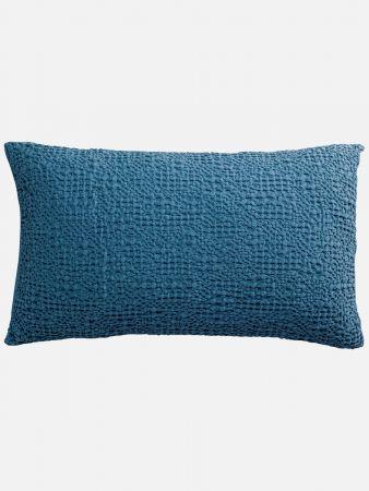 Honeycomb - Zierpolsterbezug - Blau