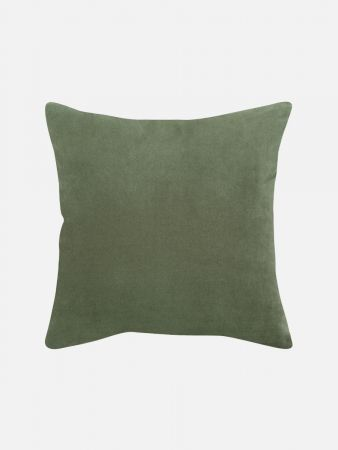 Velvet Doubleface - Zierpolster - Grün
