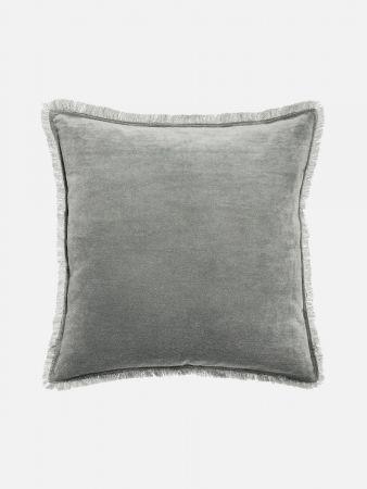 Velvet Opulence - Zierpolster - Grau