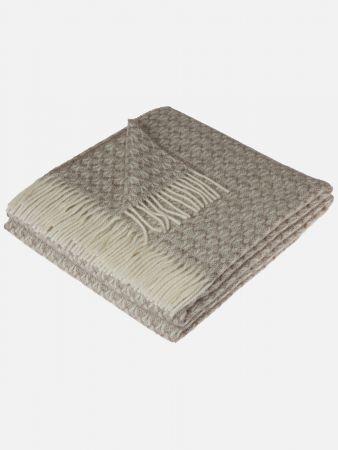 Virgin Wool Jacquard - Decke
