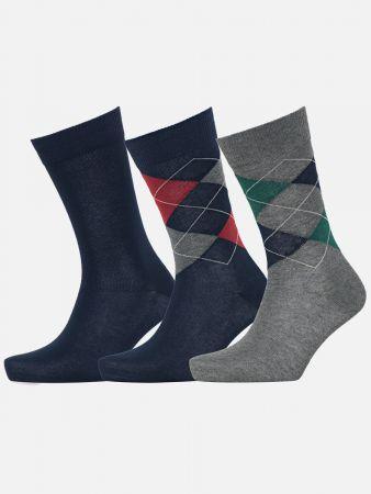 New Rhomb Box - Socken