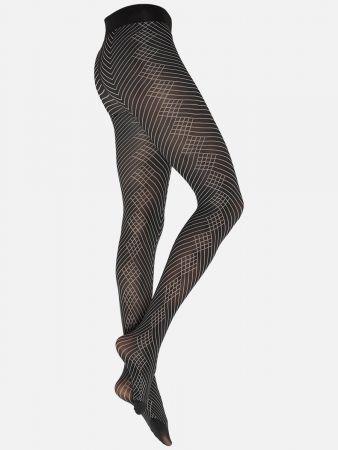 Chic Rhomb & Stripes - Strumpfhose