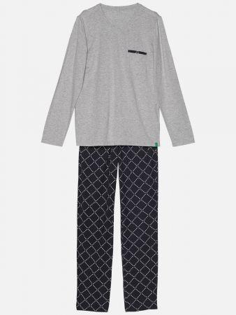 Diamond Grey - Pyjamahose
