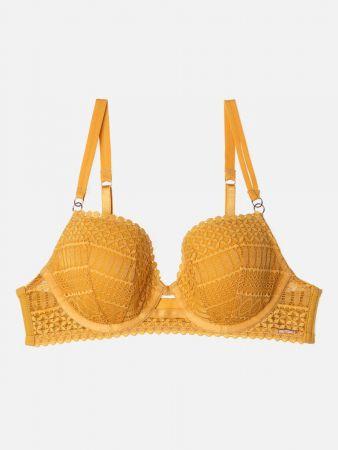 Golden Chic - Spacer Bügel BH - Ocker