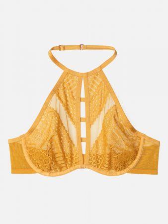 Golden Chic - Bralette Bügel BH - Ocker