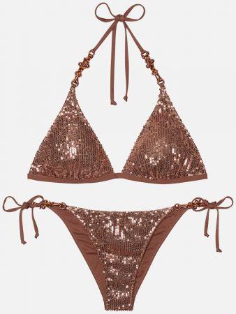Mauritius Glitz - Triangel Bikini-Top & Tanga