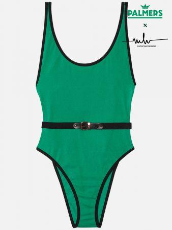 Buckle Beach - Badeanzug - Grün