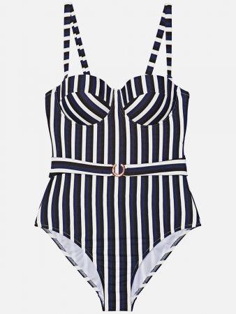 Corfu Stripe - Badeanzug