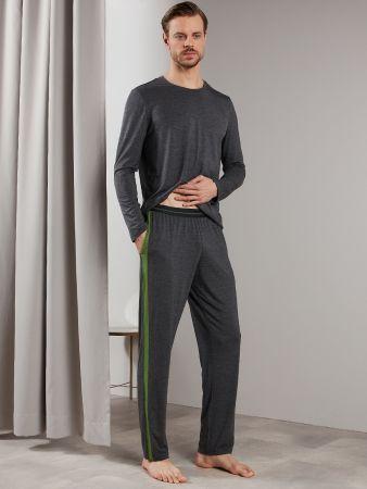 Retro Modal Night - Pyjamahose