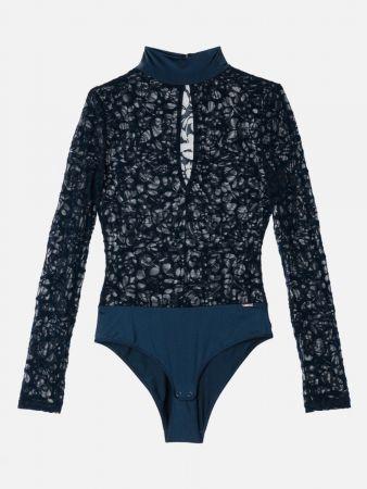 Velvet Bloom - Bügel Body Brazil - Navy