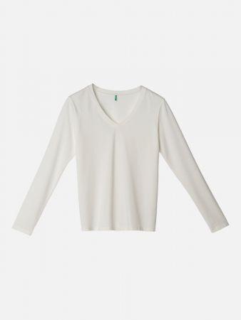 Luxe Essential Shirt - Nachtwäsche Shirt - Offwhite