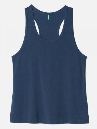 Boho Dreaming - Nachtwäsche Shirt - Dunkelblau