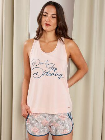 Geo Tile - Nachtwäsche Shirt