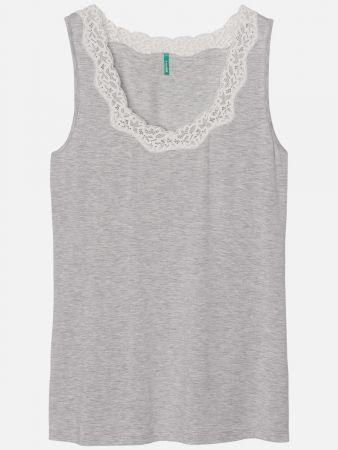 Eco Essence Grey - Nachtwäsche Shirt