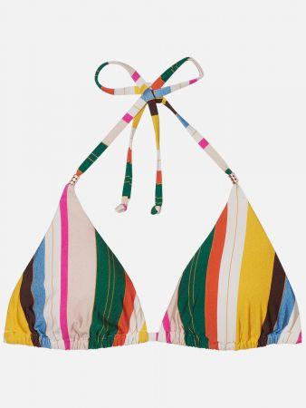 Santos Beach Stripe - Triangel Bikini-Top