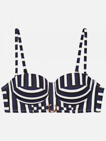 Corfu Stripe - Bikini-Top
