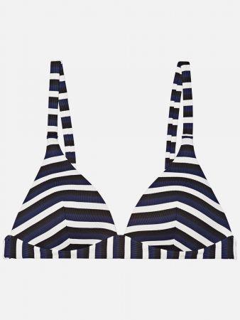 Corfu Stripe - Triangel Bikini-Top