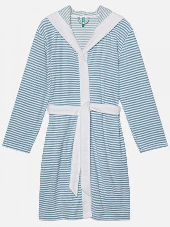 Trendy Stripe - Bademantel