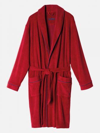 Flaming Robe - Bademantel - Dunkelrot