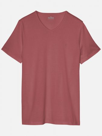 Casual Essentials - Shirt - Rot