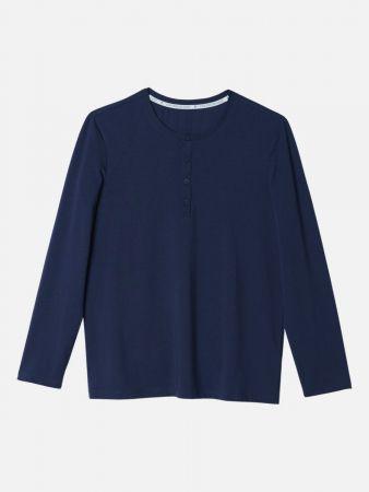 Night Essentials - Shirt - Blau