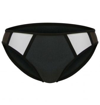 Metallic Block - Bikini-Hose Mini